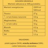 GOLDEN GRANOLA BEZ PSZENICY
